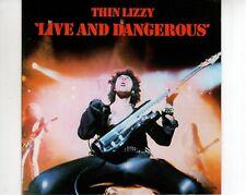 CD THIN LIZZYlive and dangerousVERTIGO RED FRANCE  EX (B2566)