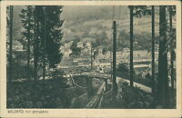 Ansichtskarte Wildbad mit Bergbahn 1926  (Nr.929)
