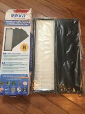 VEVA True HEPA Replacement Filter Including 4 Activated Carbon Pre-Filters *NIB
