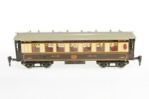 AB510 :Vintage French Hornby O Gauge No.2 Special Golden Arrow Pullman Coach