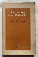 Le sang du pauvre par Léon Bloy – 1946