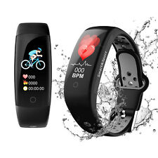 Bluetooth Fitnessuhr Fitness Tracker smart Armbanduhr Smartwatch Pulsmesser Ip68