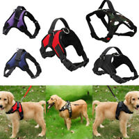 Pet Harness Dog Vest Saddle Shape No Pull Nylon Lead Walking Collar Chest Strap