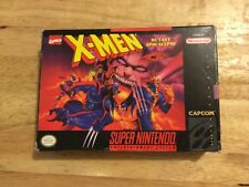 X-Men: Mutant Apocalypse (Super Nintendo) Complete In Box Mint Condition