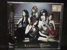 ALDIOUS Determination JAPAN CD Raglaia Galmet Crying Machine Manipulated Slaves