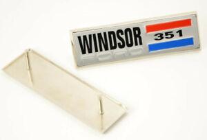 351 Windsor Engine Side Emblem (PAIR)