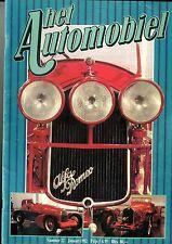 1982 HET AUTOMOBIEL MAGAZIN 22 APAL SPEEDSTER OPEL ALFACOLLEDTIE PANNE