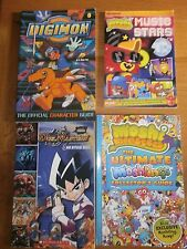moshimonsters,moshlings guide,digimon digital monsters,duel masters x 4 books PB
