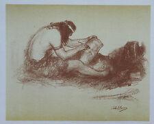 Abel Pann Lithographie Genesis Bible Judaïca Jewish Art juif Israël Palestine 24