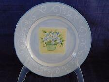 Mesa Isabella SALAD PLATE - Blue Rim *have more items to set*