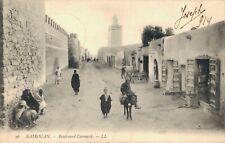 Tunisia - Kairouan Boulevard Correard Street Scene - 03.35