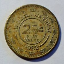 Chuck E. Cheese - In Pizza we Trust - 25c - 1982 - Medaille / Token