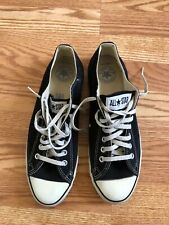Mens Vintage 70s 80s Converse Made In Usa Size 11 Black