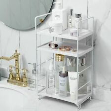 New Iron Storage Shelf Kitchen Organizer Bookshelf Bathroom Corner Shelve Makeup
