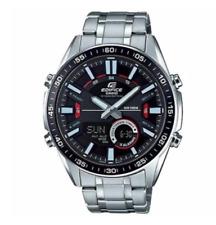 Casio Watch  Edifice Original EFV-C100D-1A  Ana-Digi Display Black +Original Box
