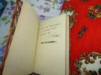 Colette - Ces Plaisirs... - Avec Envoi à Varennes - bien relié 1932