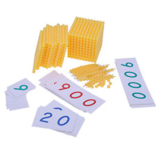Montessori Toy Bank Math Counting Toy Family Education Game Teach Resource