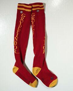 Harry Potter Gryffindor Knee-High Socks MAGIC Magician Howarts House Halloween!