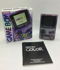 Nintendo Game Boy Color | Atomic Clear Purple (Lila Transparent) | inkl. OVP