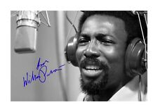 More details for wilson pickett 1 a4 reproduction autograph photograph poster choice of frame