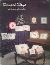 Damask Days Special Occasion Drysdale 1981 Cross Stitch Leaflet Christmas Baby