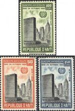 Haiti 645-647 (kompl.Ausg.) postfrisch 1960 15 Jahre UNO