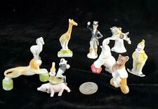 10 pc. Antique Bisque German Circus Figurines/Cake Toppers
