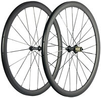38mm 25mm U Shape Clincher Carbon Wheels Carbon Bicycle Wheelset 700C UD Basalt