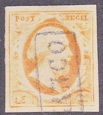 NVPH 3 Koning Willem 3 LuXe gerand Gebruikt Cataloguswaarde 170,00 E-2354