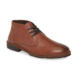 John Varvatos Star USA Men's Portland Chukka Boot Distressed Leather Caramel