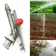 "1.5"" 360° Adjustable Impact Sprinkler Large Area Water Irrigation Spray Tool New"