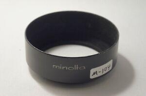 Minolta Metal Hood D52ND for Standard [M-104]