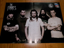 IN FLAMES ANDERS FRIDEN MEGA RARE LOT 2 POSTER SET FROM SPANISH MAGAZINE