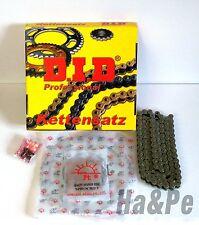 Yamaha  WR 400 F DID Kettensatz chain kit 520 VX2 1999 - 2002