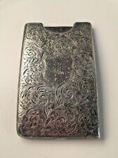 Antique // Art Nouveau // Sterling Silver Note Holder // Circa 1897