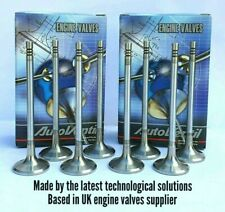 8 EXHAUST VALVES FOR FORD TRANSIT Galaxy 2.3i  91XM6505AB 6576229  DH20 DOHC EX
