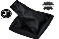 BLACK STITCH MANUAL LEATHER GEAR BOOT COVER FITS HOLDEN ASTRA TS 1998-2005