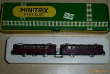 MINITRIX electric 2980;SPUR N 51 2980 00 SCHIENENBUS VT98 mit BEIWAGEN VS 98-C20