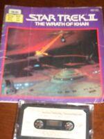 Star Trek Vintage book and cassette