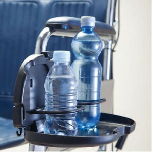 Wheelchair Double Cup, Bottle, Can, Drink, Beverage Holder Handy Mobility Aid