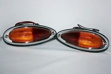 PORSCHE 356 A B C EU TAILLIGHTS RIGHT and LEFT BRAND NEW with SEAL 1957 - 1965