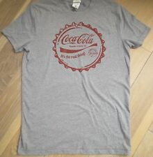 Abercrombie & Fitch Coke T-shirt Grey,White,Red Classic LTD ED Men S,M,L,XL,XXL