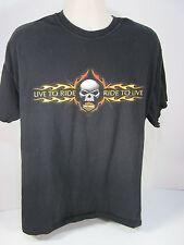 Genuine Harley Davidson XLarge Live To Ride Rehoboth Beach De T Shirt  Item #26E
