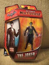 "DC COMICS MULTIVERSE 4"" ARKHAM ORIGINS JOKER FIGURE CDW41 *NEW*"