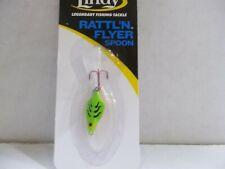 Lindy Rattl'N Flyer Spoon 1/16 ounce chart tiger Nip