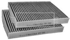 Borg & Beck Interior Air Filter Cabin Pollen BFC1160 - GENUINE - 5 YEAR WARRANTY