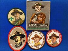 Boy Scouts -  Baden-Powell patches lot (5)