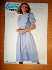 e93150e3f11 Vintage 1980s Simplicity sewing pattern - Dress
