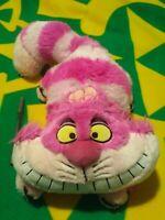 "2011 Cheshire Cat 18"" Plush toy Alice In Wonderland Authentic Disney Store"
