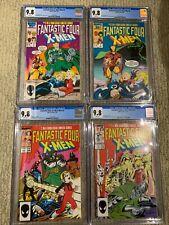Fantastic Four vs. the X-men CGC 9.8 #1, #2, #3, #4 ALL CGC 9.8